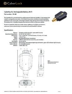 CK-AIR Spec Sheet PDF