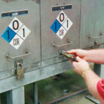 Padlocks securing water treatment facilities