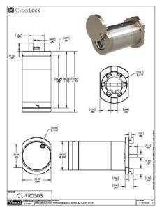 CL-FR050B Spec Sheet PDF