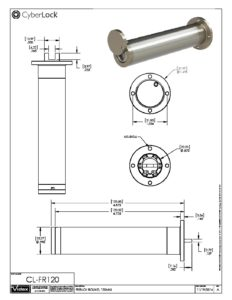 CL-FR120 Spec Sheet PDF
