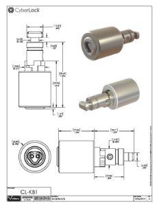 CL-KB1 Spec Sheet PDF