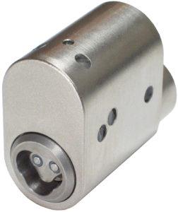 CyberLock CL-OVLD Cylinder, Scandinavian Oval, Drill-resistant
