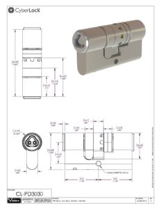 CL-PD3030 Spec Sheet PDF