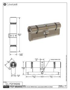 CL-PDFR4045 Spec Sheet PDF