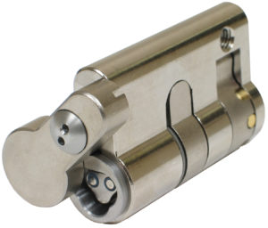 CyberLock CL-PH42C Cylinder, Half Profile with Cover