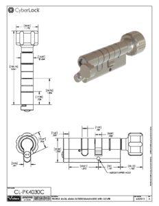 CL-PK4030C Spec Sheet PDF