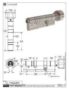 CL-PKS6030R Spec Sheet PDF