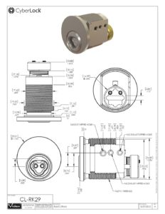 CL-RK29 Spec Sheet PDF