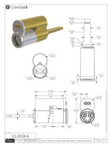 CL-SF03-A Spec Sheet PDF