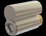 CyberLock CLT-PL4WR Cylinder, Lockwood Padlock Format, Weather-Resistant, Tamper Plug