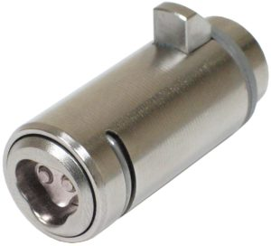 CyberLock CLT-T7H Cylinder, T-Handle Vending Format, Front Install