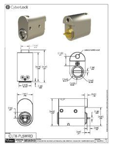 CLTX-PL5WRD Spec Sheet PDF