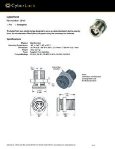 CP-05 Spec Sheet PDF