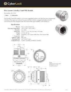 FS-CV01 Spec Sheet PDF
