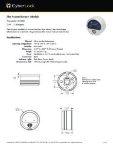 FS-MP01 Spec Sheet PDF