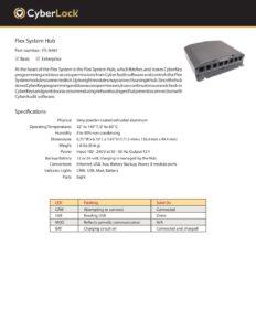 FS-SH01 Spec Sheet PDF