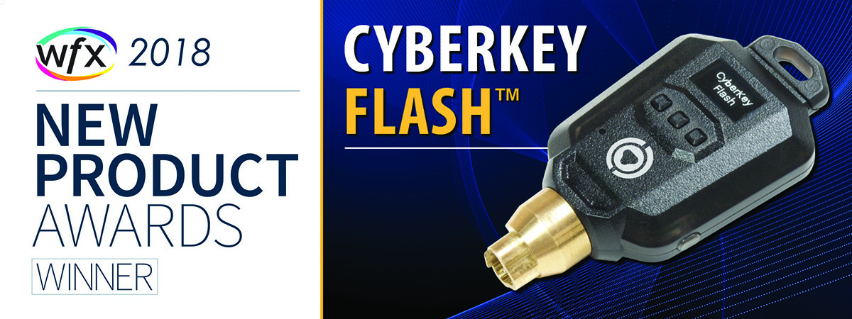 CyberKey Flash WFX Award