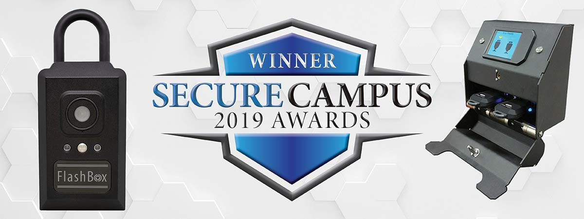 FlashBox and ValidiKey 2 Plus Secure Campus Award Winners