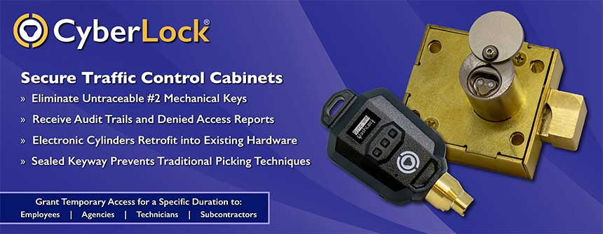 CyberLock Traffic Cabinet Locks Banner