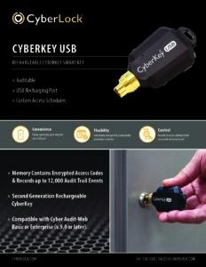 CK-USB Spec Sheet PDF