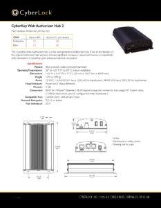 AHG2-W2 Spec Sheet PDF