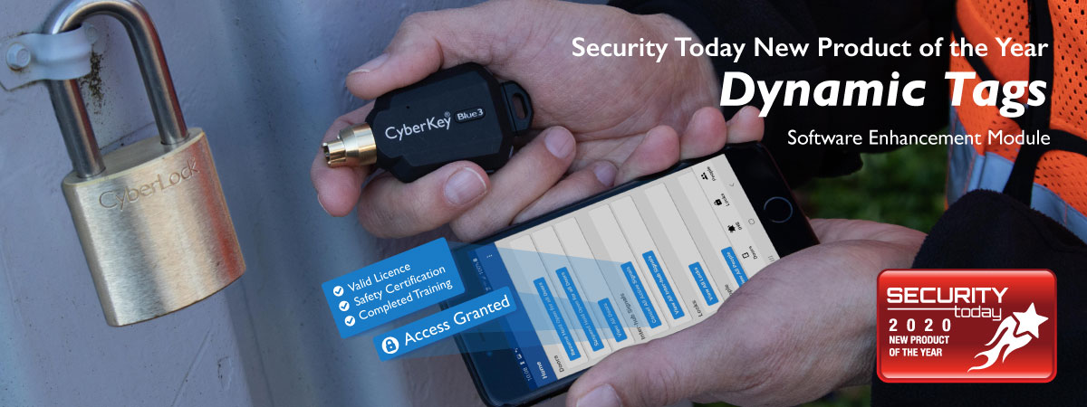 Security Today 2020 New Product of the Year - Dynamic Tags Software Enhancement Module
